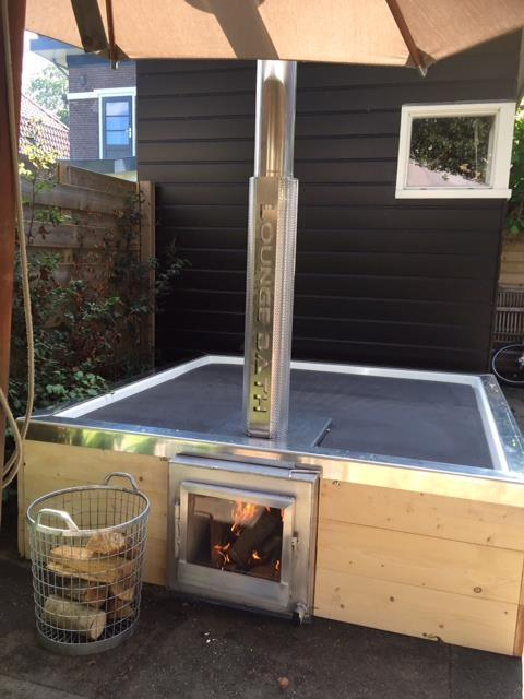 Hot tub Aluminium zwembad hottub jacuzzi spa whirlpool spa