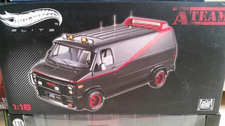 Hotwheels elite A-team van