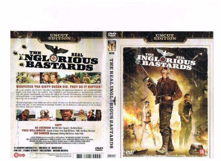 nieuw dvd The real Inglorious Bastards