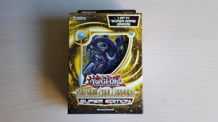Yu-Gi-Oh [SEALED] The New Challengers Super Edition
