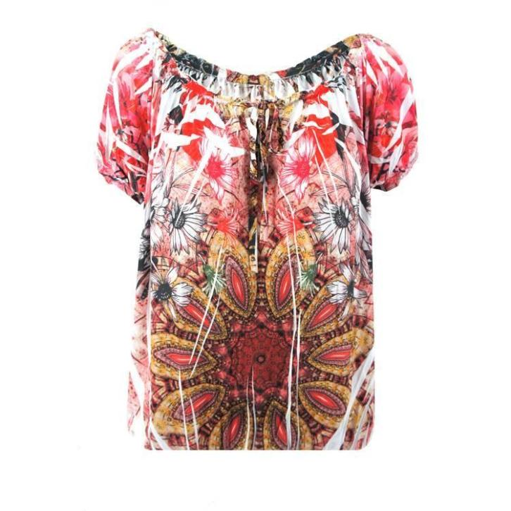 Top Coral Flower - T-shirts & Tops