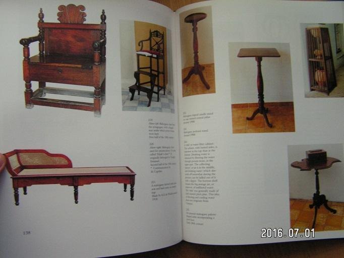 Furniture from Curacao, Aruba and Bonaire (Antieke meubels)