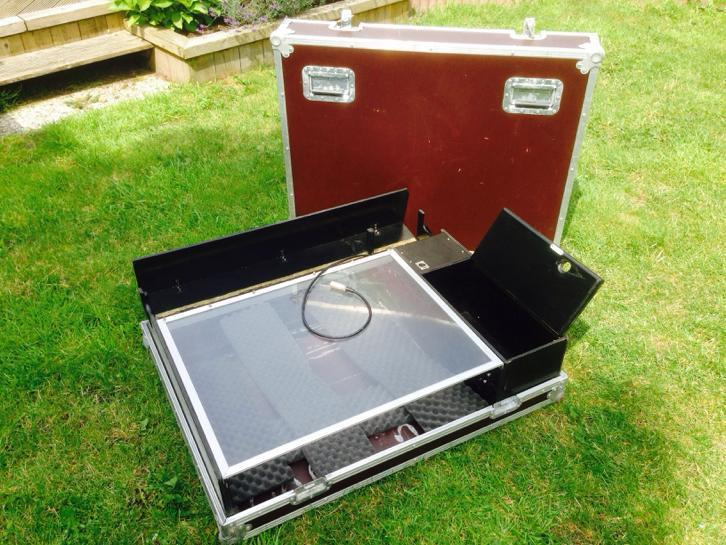 Te koop: flightcase Soundcraft LX7 /16