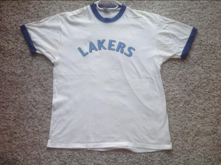 Basketbal T-shirts Lakers maat XL Champion