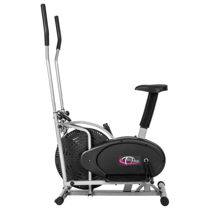2-in-1 Crosstrainer / Hometrainer met LCD-display 401716