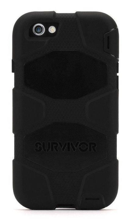 Griffin Survivor Extreme Case iPhone 6 Zwart