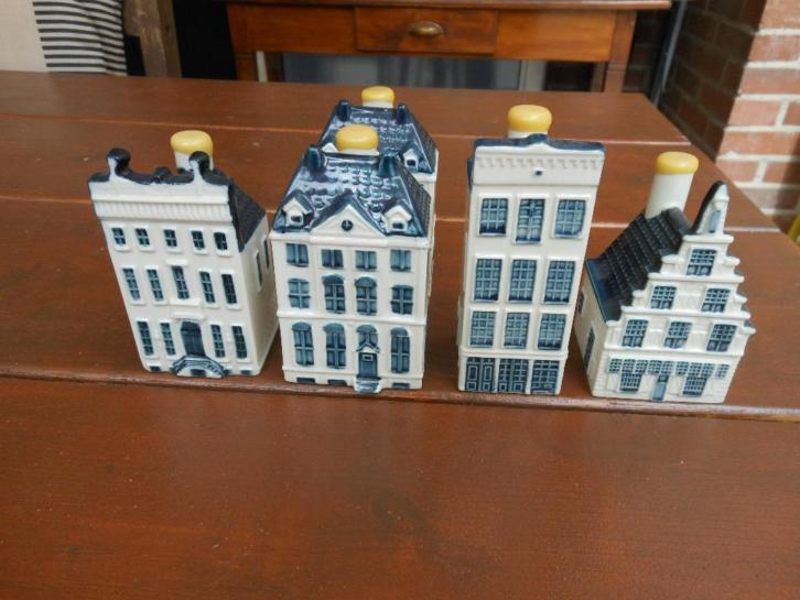5 KLM Huisjes Collector Items