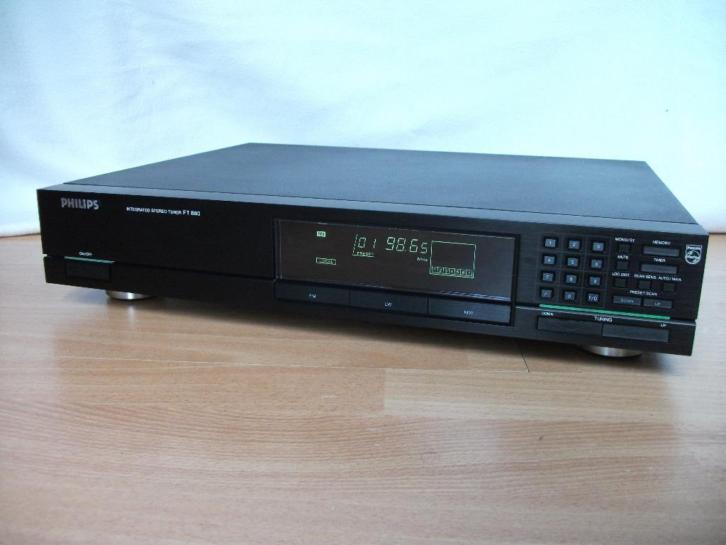 Mooie tuner radio Philips type FT880