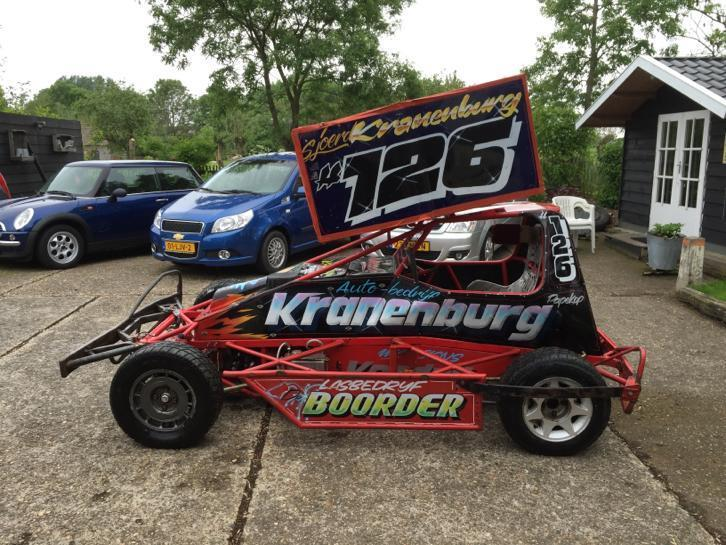 Stockcar F2 HCD rollend chassis