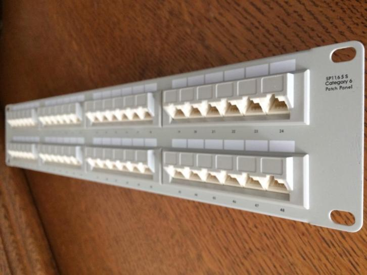 MICRONET SP1165S - CAT6 patch paneel - 48 poorts !