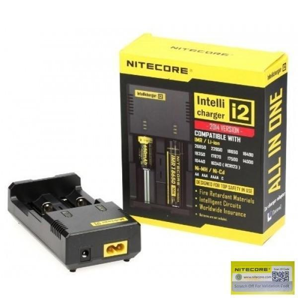 Nitecore i2 Intellicharger 14500 16340 18650 AA AAA NK018