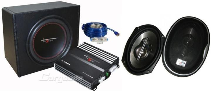 NIEUW Excalibur X2.2 Trunkpackage + 6x9 speakers nu €139,95!