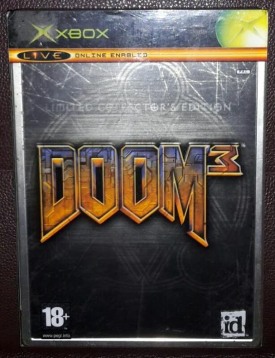 Doom 3 Limited Collector's Edition xbox