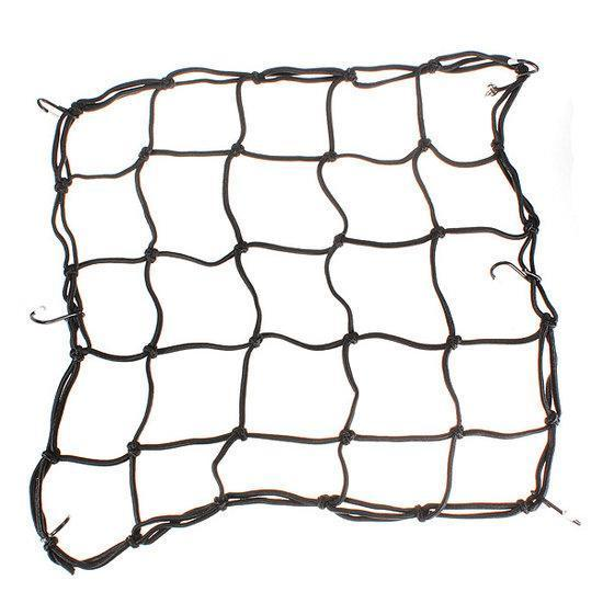 Elasticated Bungee Cargo Luggage Package Net with 6 Hook ...