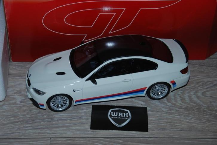 BMW M3 E92 Coup white with M stripes GT spirit GT707 WRH