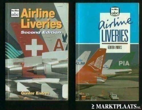 4x Airline Liveries (dl 1 t/m 4) - Gunter Endres