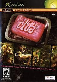 Fight Club (xbox used game)