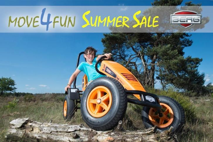 BERG TOYS SKELTER SUMMER SALE AUGUSTUS Move4Fun Buddy Rally