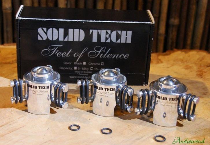 Solid Tech Feet of Silence set of three