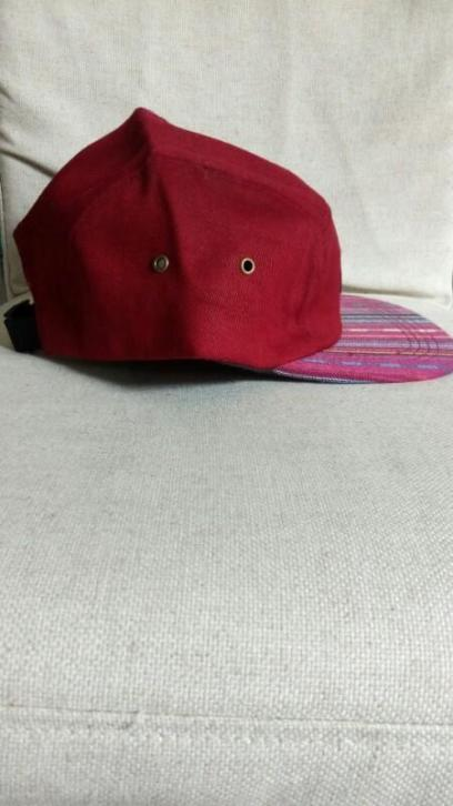 Nieuwe HUF Red 5 Panel Camp Cap