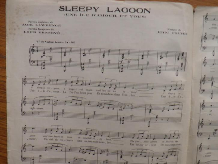 Sleepy lagoon ----- eric coates