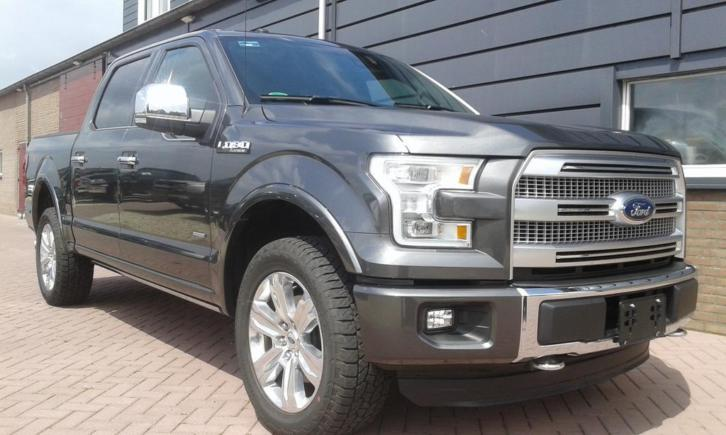Ford F150 Platinum magnetic Grey