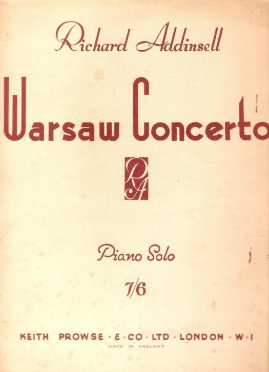 Richard Addinsell - Warsaw Concerto