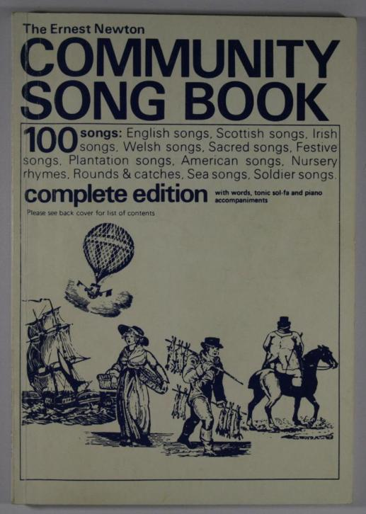 The Ernest Newton community song book [ piano / zang ]