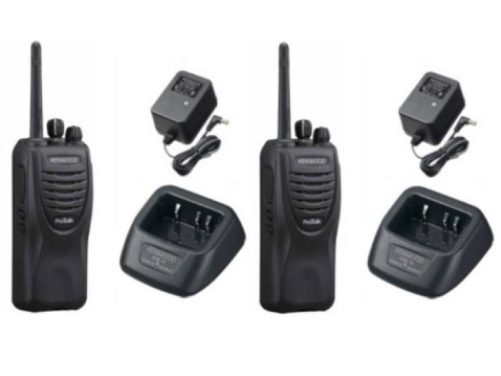 Walkie talkie portofoon protalk Kenwood tk3201