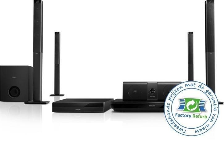 Philips 5.1 3D Blu-ray home cinema HTB5580G/12 (28885)