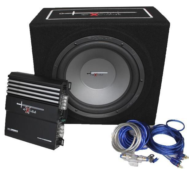Excalibur X3 100% BASS pakket Complete Car Audio Set €109,95