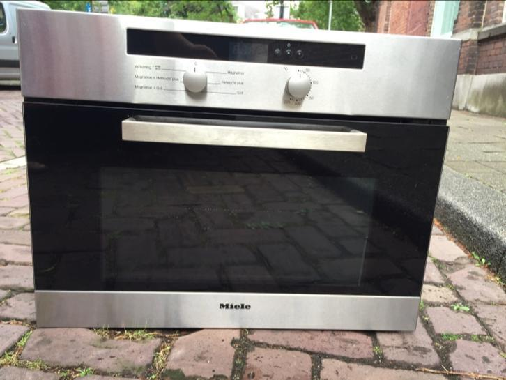 Fraaie Miele RVS combimagnetron/Oven/Grill