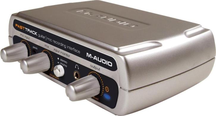 M-Audio audio interface fast track usb