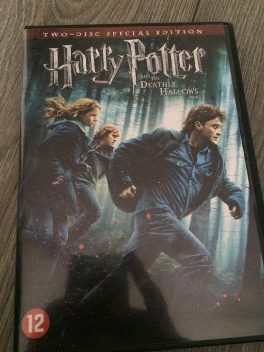 Harry Potter dvd 7 Deathly Hallows part 1