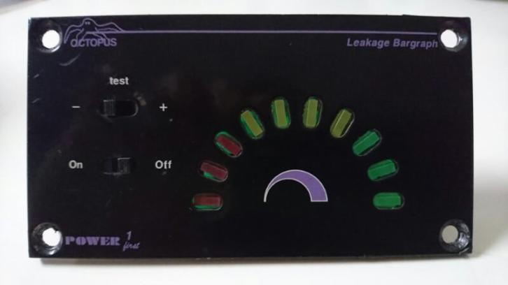 Lekstroom Monitor Power Frist Octopus Lekkage Bargraph