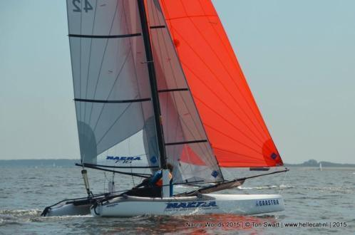Nacra F16 catamaran upgrade to 2015 model