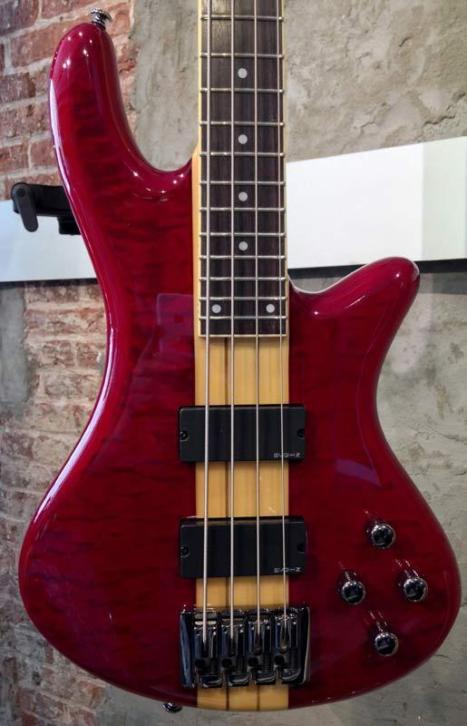 Schecter Stiletto Elite 4 See through Red