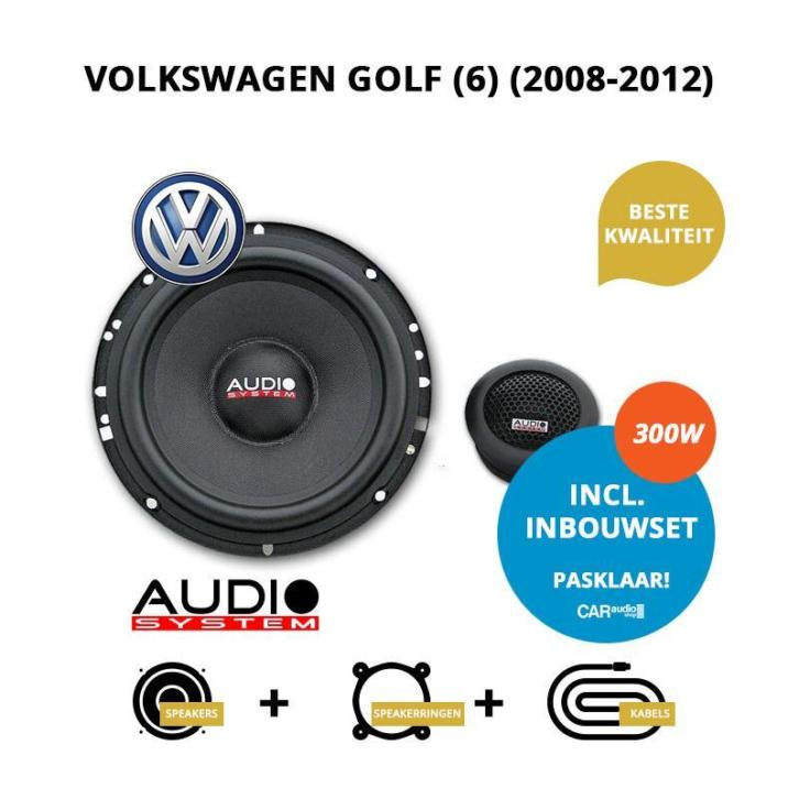 Premium speakers voor Volkswagen Golf (6) (2008-2012)