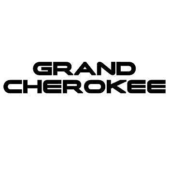 Grand Cherokee Stickers