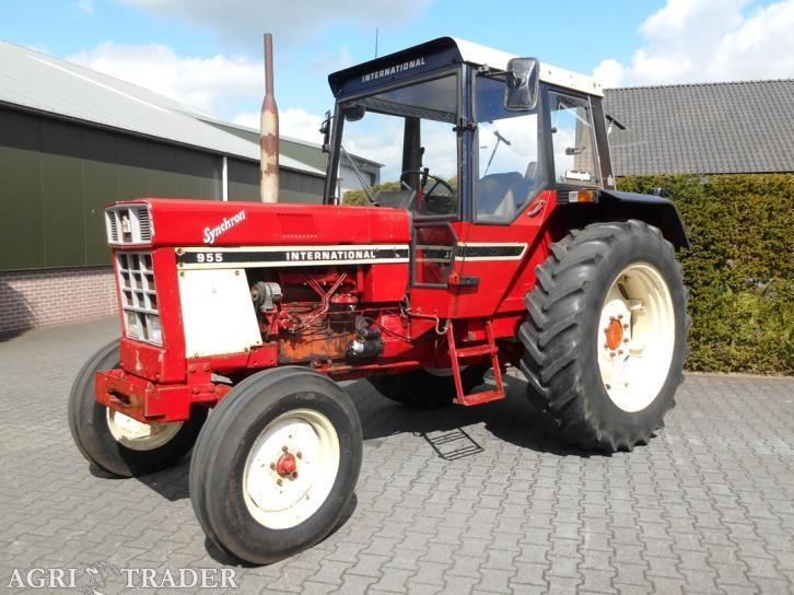 2WD tractor International 955 (2-wd) (Bj 1977)