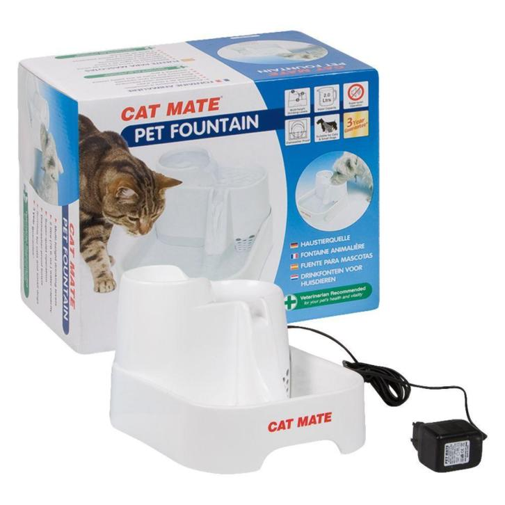 Cat Mate drinkfontein 2 l - Wit