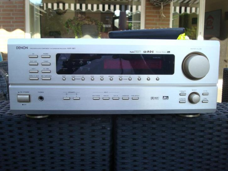DENON AV Surround Receiver AVR1801