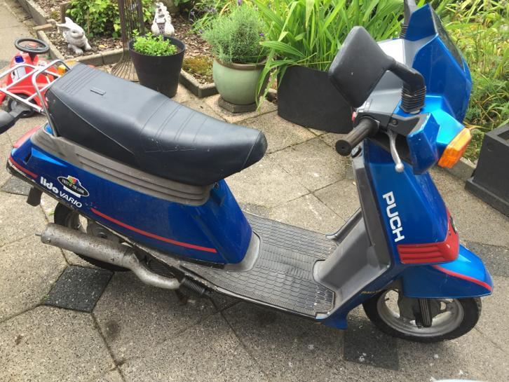 Puch Lido Vario uit 1986