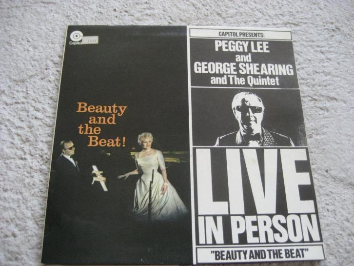 vinyl elpee - Peggy Lee etc. - Beauty and the Beat