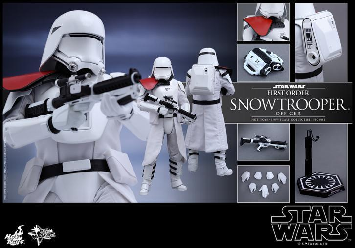 Star Wars Hot Toys First order snowtrooper officer