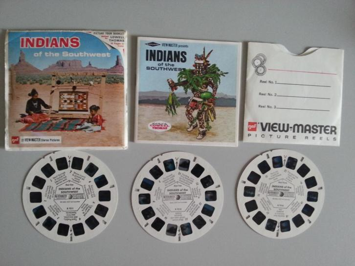 Viewmaster USA Indians Southwest B721 view master