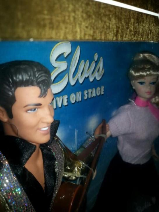 Elvis Presley&barbie collector edition