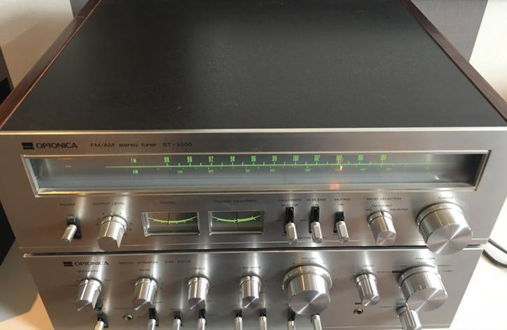 Vintage Sharp Optonica top tuner ST3000