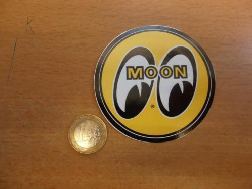 MOONEYES/ MOON EYES decals rond