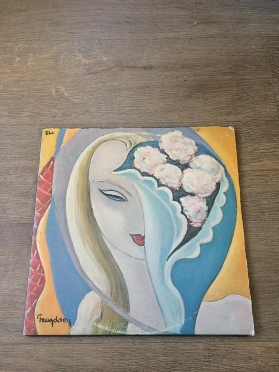 Derek & The Dominos - Layla lp vinyl US 1972